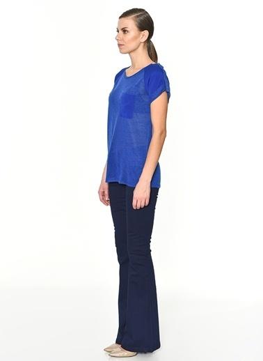 Fabrika Tişört Mavi